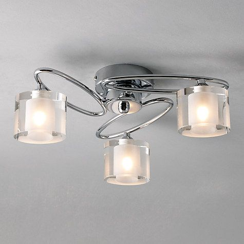 Buy Zola 3 Light Ceiling Fitting Online At Johnlewis