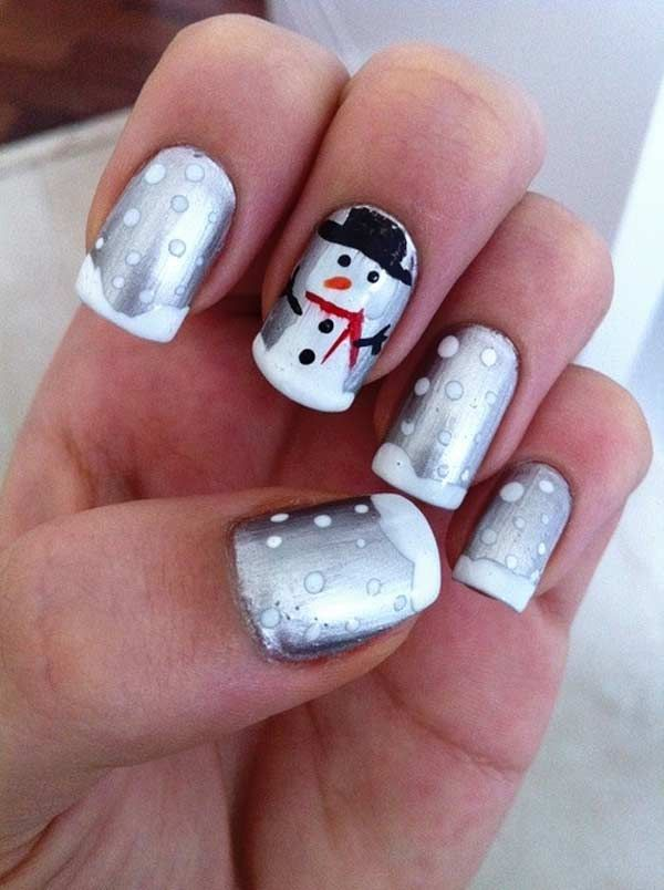 31 Ideas For Your Christmas Manicure - Fashion Diva Design | See more at http://www.nailsss.com/...