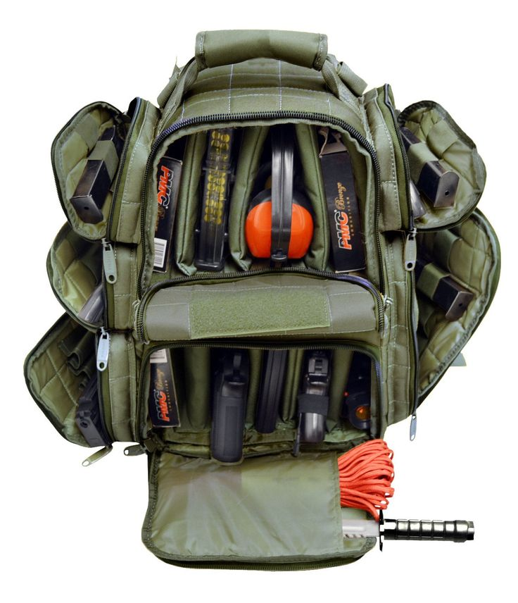 Ultimate Deluxe Tactical Range Backpack Polyester 1200D Heavy Duty