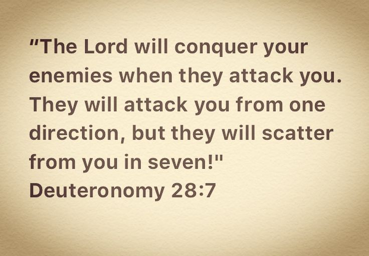 they will attack from one direction. but they will run from you seven direction | 1000 idées sur le thème Deuteronomio 28 sur Pinterest | Biblia Reina ...