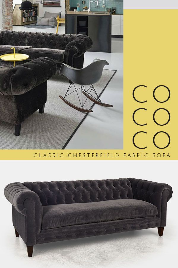 Chesterfields look great in contemporary settings. Our COCOCO ...