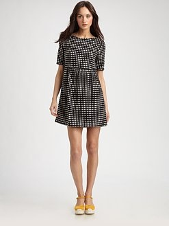Polka Dot Mini Dress by Ace & Jig Dress Polka_Dot Ace_&_Jig ...