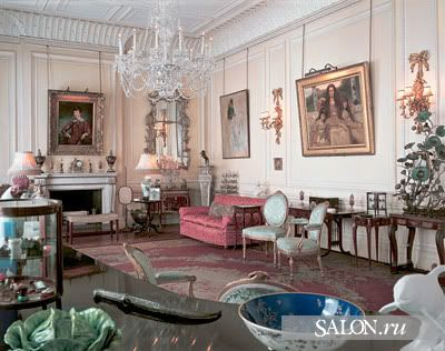 clarence house queen mother   Queen Mother's Drawing Room on the first floor of the Clarence House ...