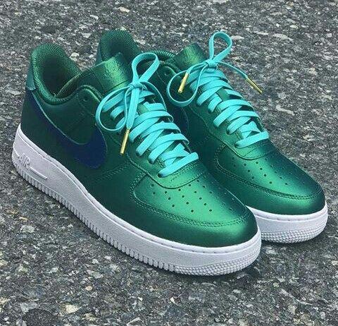 """Nike (Air Force) 1 """"Sea Green"""""""
