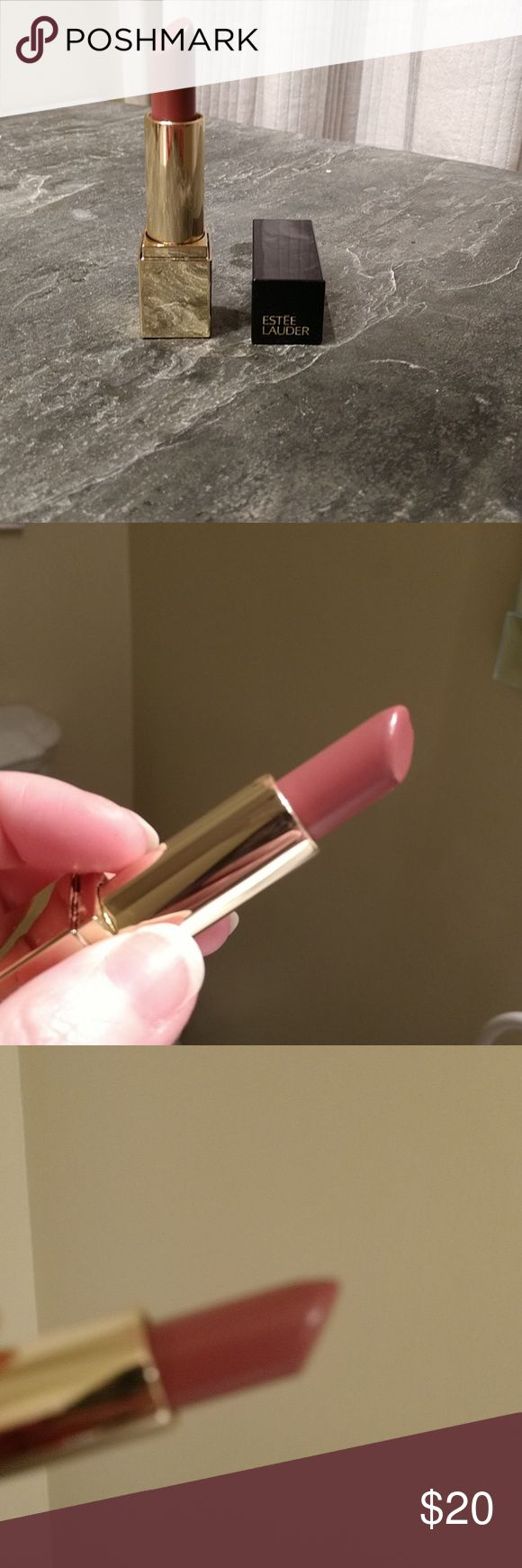 Estee Lauder Pure Color Envy Sculpting lipstick in NWT; only used to swatch. Pure Color Envy in Envious. I took pics in different lighting. High-intensity color. Super creamy, sensually soft and smooth, luxuriously comfortable. Has great reviews. Reasonable offers will be seriously thought about. We can find amount that works for both parties.  BENEFITS   Great ratings Estee Lauder Makeup Lipstick