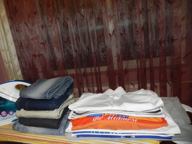 Am terminat de calcat toate hainele, repede, fara sa fie nevoie sa mai realimantez cu apa statia de calcat.