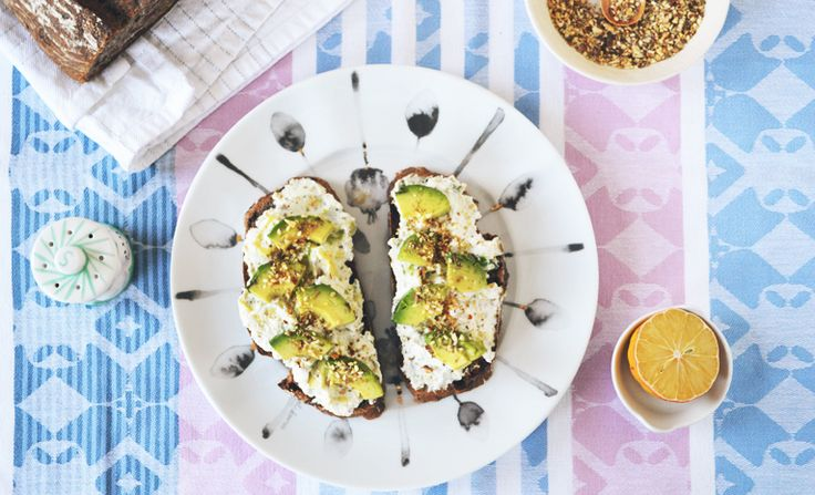 5-Minute Breakfast: Ricotta & Avocado Spread - Clementine Daily