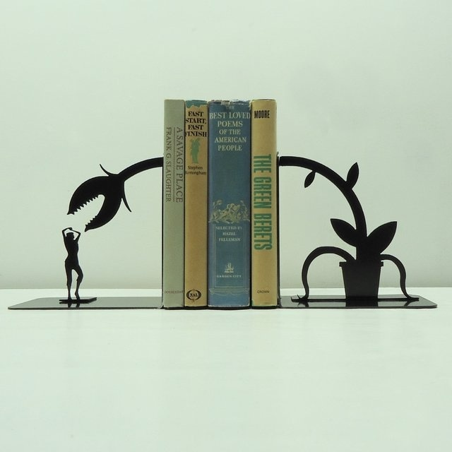 Fly trap book ends