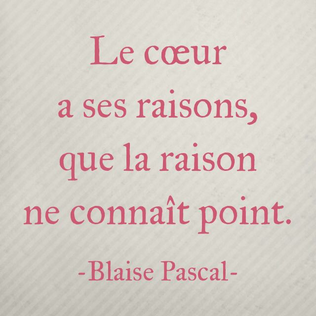 le coeur....la raison.... | PAROLES....PENSEES ...