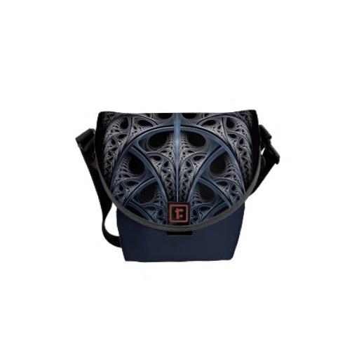 Skeletal Hall fractal art Commuter Bag $56.65 #fractal #abstract #bags