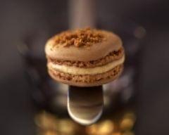 Macarons au foie gras et pain d'épices