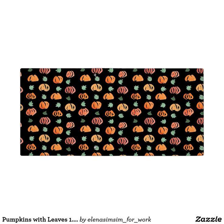 Pumpkins with Leaves 1.5'' Binder
