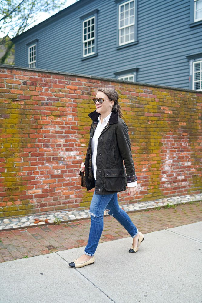 Classic Barbour Beadnell Style   Covering the Bases   Fashion and Travel Blog New York City