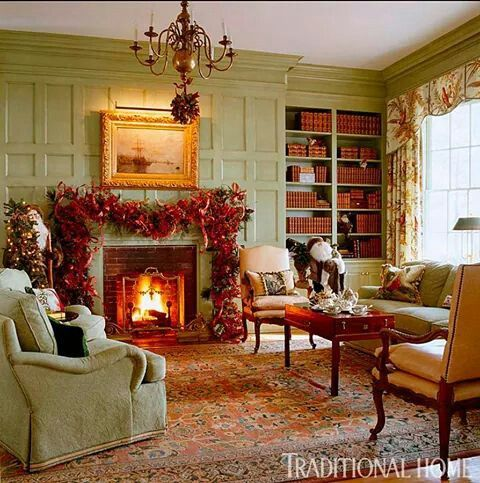 Maryland home library