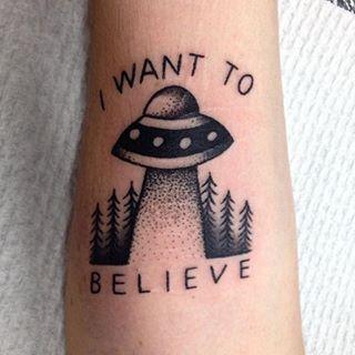 x files tattoo - Google Search