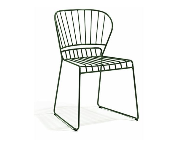 pinnstol mio ~ resö stol i mørkegrøn fra skargaarden  vålamagasinet