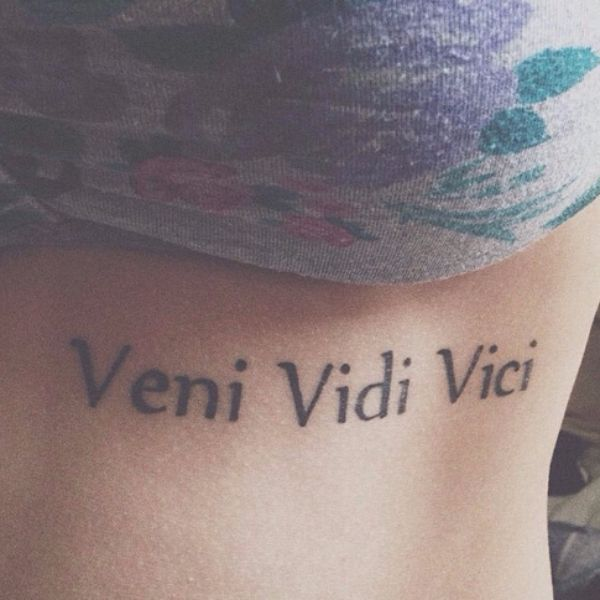 17 best ideas about veni vidi vici on pinterest finger tattoos words italian quotes and. Black Bedroom Furniture Sets. Home Design Ideas
