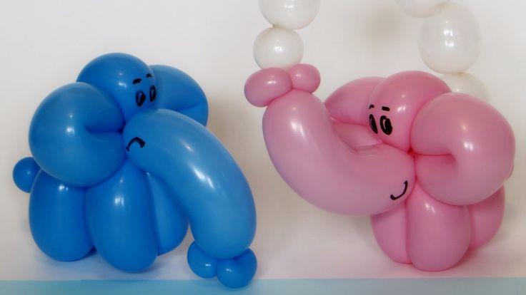 Слоненок из одного шара / Elephant calf of one balloon twisting