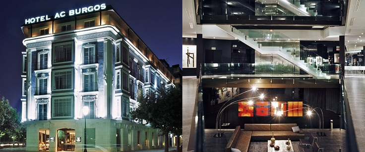 One of the hotels that i will tour, when in Spain!!! AC Hotel Burgos (Spain)
