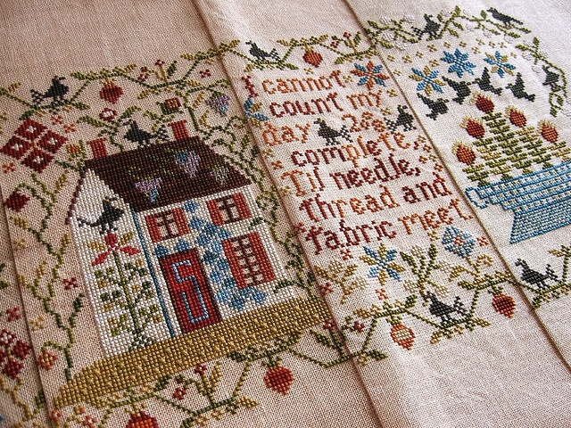 Blackbird Designs Mystery Sampler