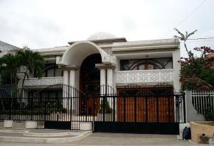 casa de el Pibe Valderrama en Barranquia