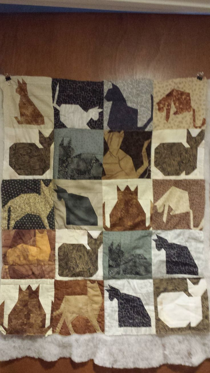JC Quilts Quilted Cats Foundation Patterns