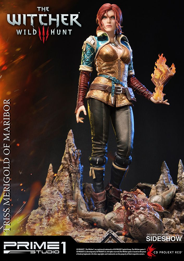 The Triss Merigold of Maribor Statue by Prime 1 Studio is available at Sideshow.com for fans of The Witcher 3: Wild Hunt and video games.