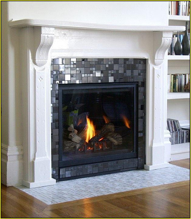 Best 10 Mosaic tile fireplace ideas on Pinterest Fireplace tile