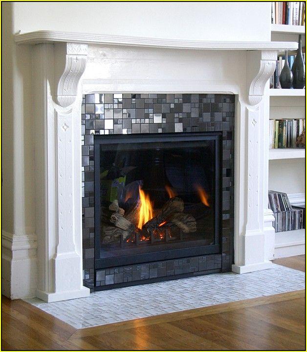 Best 10 Mosaic Tile Fireplace Ideas On Pinterest