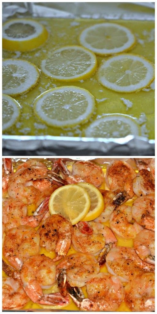 SO EASY! ONE PAN! SCRUMPTIOUS TOO!  INGREDIENTS: 1 STICK BUTTER (I USED GRASSFED-THE GOOD STUFF!!!) 2 POUNDS SHRIMP, DESHELLED/DEVEINED (thawed and dried) SEA SALT, PAPRIKA, PEPPER,GARLIC POWDER, TURMERIC 1 1/2 LEMONS SLICED THINLY Diretions: 1. Line a baking pan (with sides) with nonstick foil. 2. Lay the butter on the pan and place in …