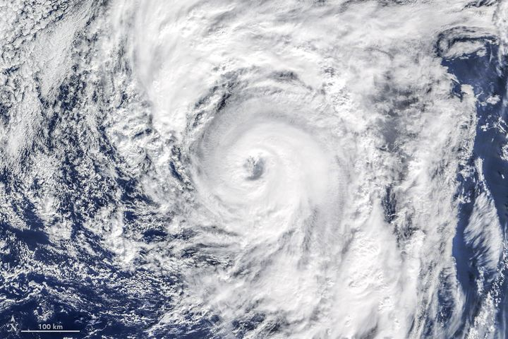 Hurricanes have arrived early this year in the northern hemisphere. Just days after hurricane Pali became the earliest Central Pacific hurricane on record, the Atlantic basin spun up its own unusual storm. On January 14, 2016, a tropical depression in the eastern Atlantic evolved into hurricane Alex; it became the earliest hurricane in the basin since 1938 and just the fourth January hurricane in 150 years of records.