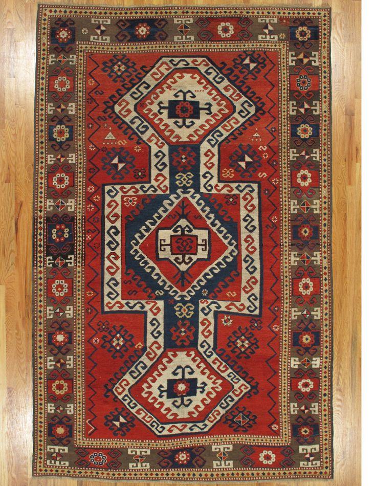 Sewan Kazak Rug From Southwest Caucasus Age Circa 1880 Size 8