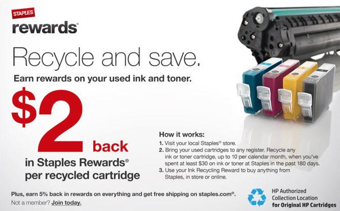 Best ink cartridge recycling deals