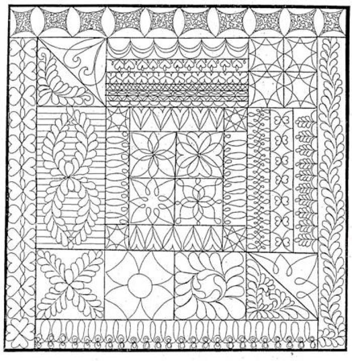 32 best images about quilting designs on pinterest hand for Quilting templates free