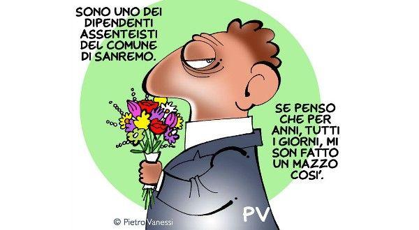 Prima erano figli e figliastri ora Furbetti e Furbacchioni - Postik.it Vignetta di Pietro Vanessi PV