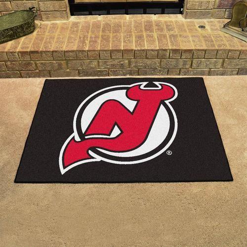 """New Jersey Devils Door Mat Floor Rug Doormat 34"""""""" x 43"""""""""""