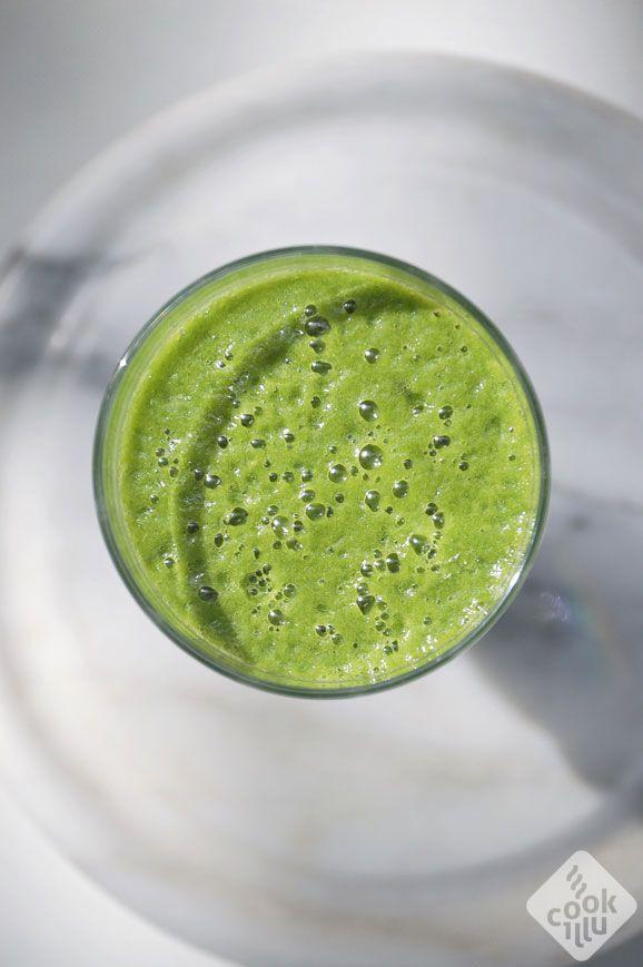 Smoothie-papaya-spinach