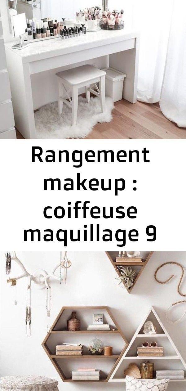 Rangement Makeup Coiffeuse Maquillage 9 Rangement Makeup