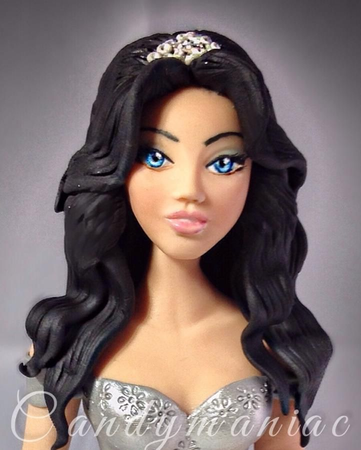 Princess Alexa - Cake by Mania M. - CandymaniaC