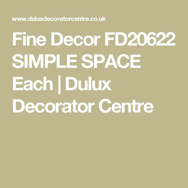Fine Decor FD20622 SIMPLE SPACE Each | Dulux Decorator Centre