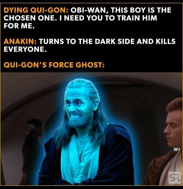 51 Star Wars Prequels Memes That Have The High Ground Star Wars Facts Star Wars Humor Star Wars Jokes