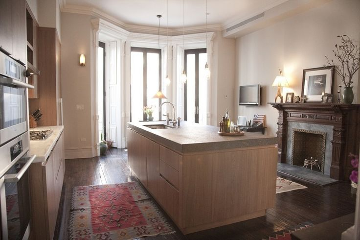 1000 images about harlem ny brownstones on pinterest for Brownstone kitchen ideas