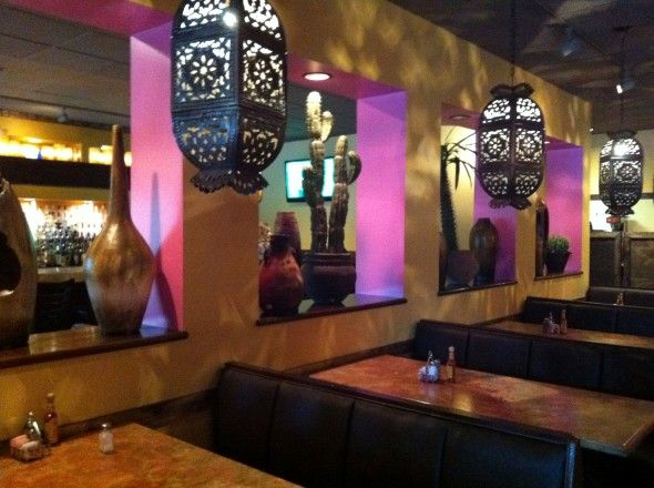 Custom mexican restaurant decoration style el toro