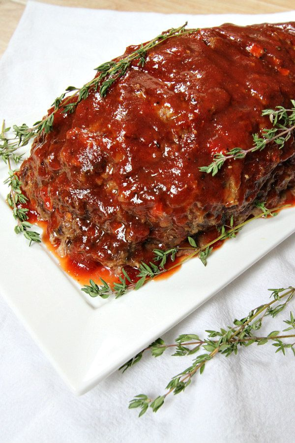 Honey Barbecue Sausage Meatloaf Recipe