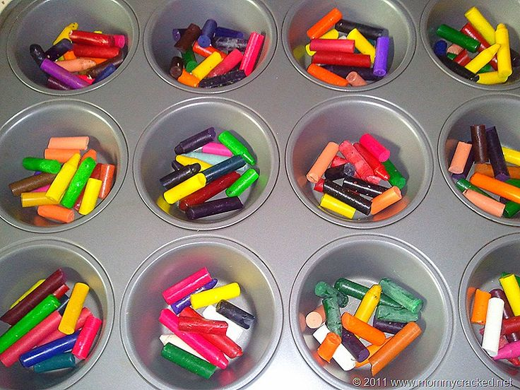 melted crayon - fun craft to include in Operation Christmas Child Shoebox