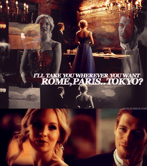 Klaus & Caroline are kind of my new obsession. I don't think it will happen anytime soon, but I hope in the end it will work out.