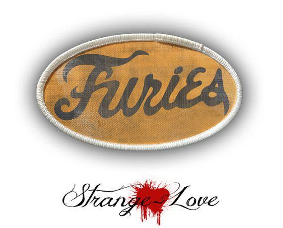 Patch  honkbal Furies  Heat Seal / opstrijkbare door StrangeLoveTees