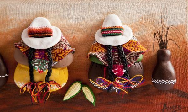 Dos cholitas