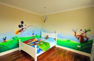 awesome Disney Kids Room Decor