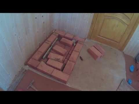 Новая кирпичная печь. - YouTube